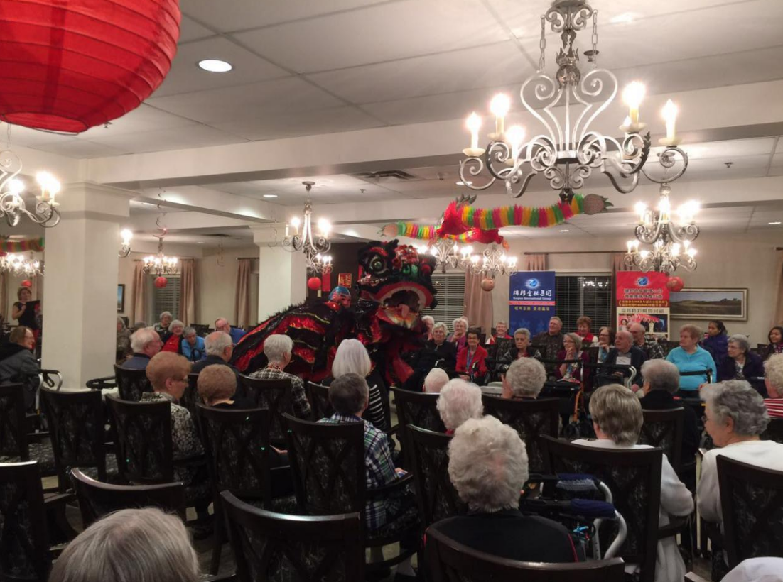 2016 CYFA Regina Branch visited Nursing Home for Chinese New Year